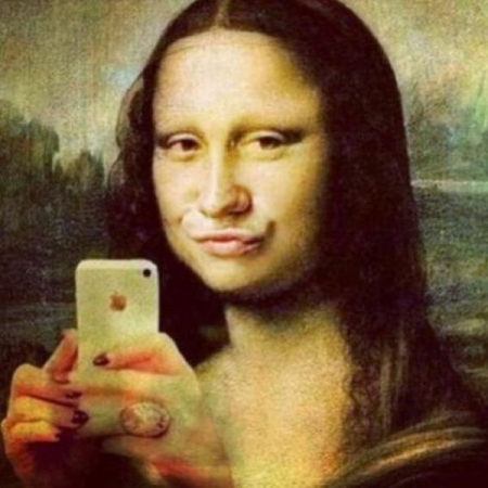 mona lisa duck face.jpg