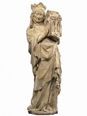 Jeanne de Navarre en fondatrice, Paris, c. 1300.jpg